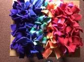 Rainbow snuffle mats